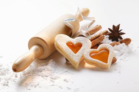 jam biscuits: Cottura natura morta con marmellata biscotti