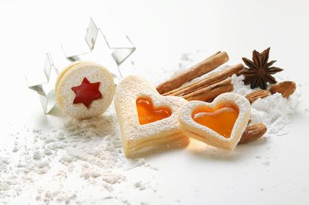 jam biscuits: