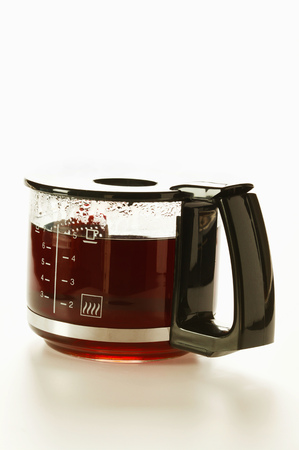 coffeepots: Coffee in glass coffee pot
