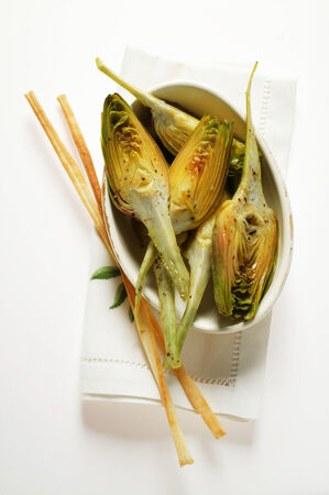 grissini: Marinated artichokes with grissini LANG_EVOIMAGES