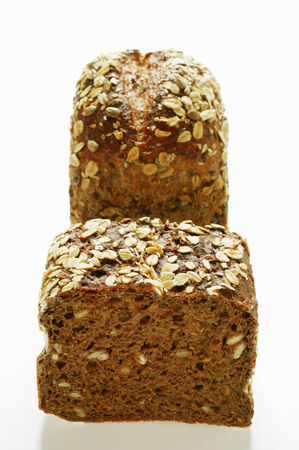 rolled oats: Wholemeal bread with rolled oats