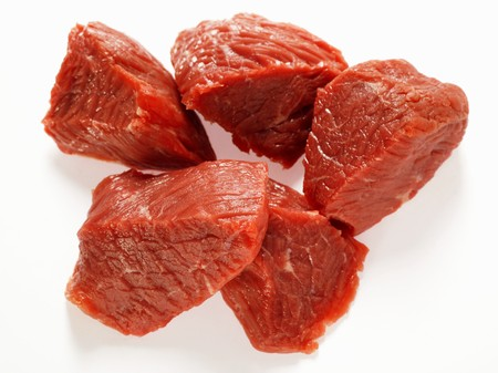 diced: Diced beef