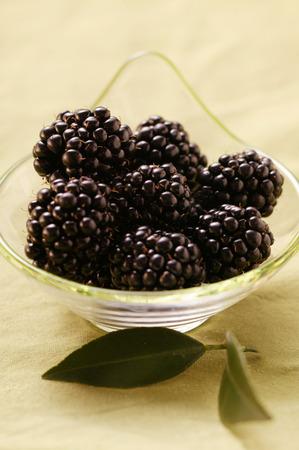 brambleberries: Blackberries in bowl