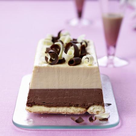 baileys: Chocolate ice cream cake with Baileys liqueur