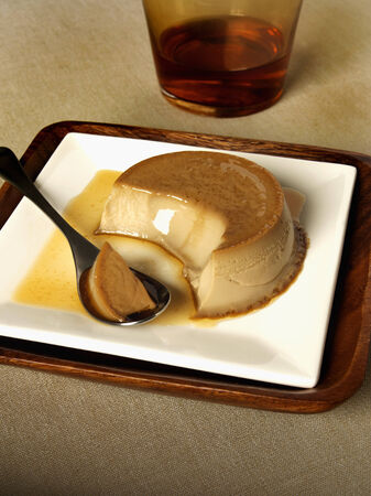 blancmange: Coffee and caramel pudding LANG_EVOIMAGES