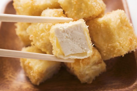 beancurd: Breaded tofu cubes (Asia) LANG_EVOIMAGES