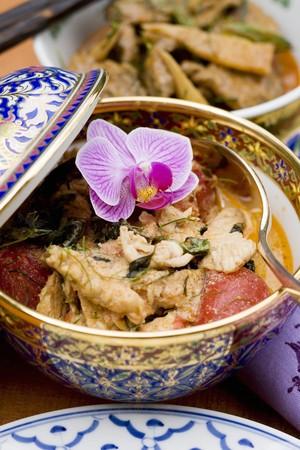 chicken curry: H�hnchencurry (Thailand)