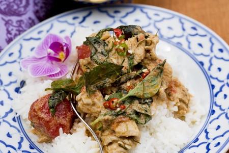 chicken curry: