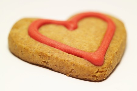shortbread: Shortbread cookie for Valentine�s Day LANG_EVOIMAGES