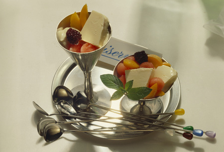 brambleberries: Gelato di ricotta (ricotta ice cream), Latium, Italy