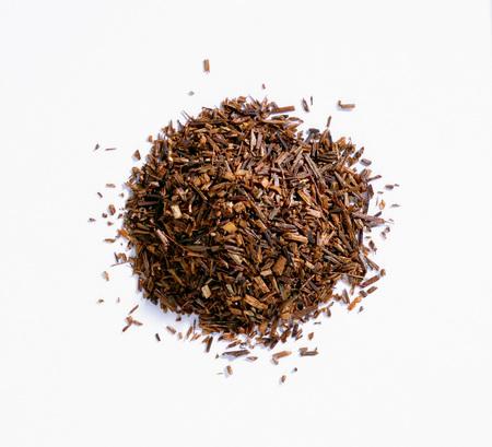 red bush tea: A heap of rooibos tea