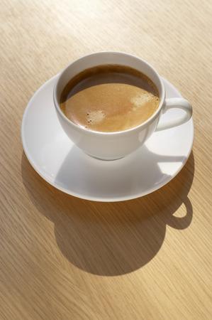 crema: A cup of caffè crema