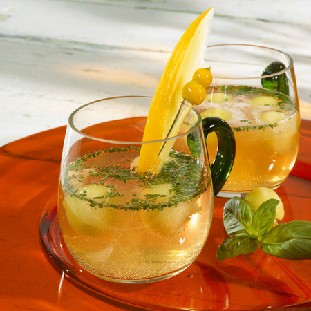 spiced: Spiced melon punch