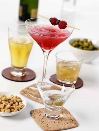 nibbles: Cocktails, long drinks and spirits