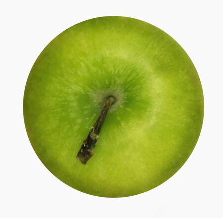 granny smith apple: A Granny Smith apple