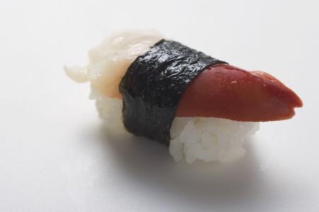 coquille: Nigiri sushi with scallop
