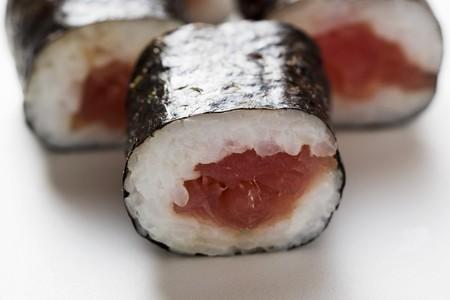 tunafish: Maki sushi with tuna