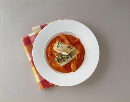 zander: Zander fillet in pepper sauce (Burgenland, Austria)