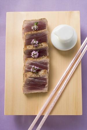 tunafish: Tuna, lightly seared LANG_EVOIMAGES
