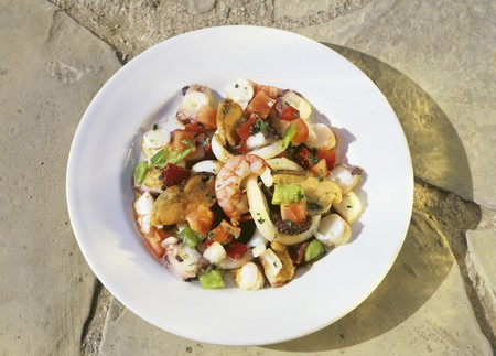 marisco: Salpicon de marisco (Seafood salad, Spain)