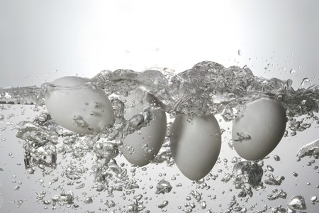 boiling: Boiling eggs