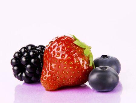 brambleberry: Moras, fresas y ar�ndanos