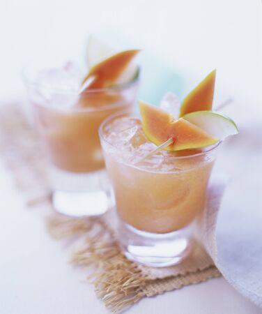 zomers drankje: Fruity summer drink