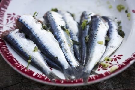 sardine: Sardine alla griglia sul piatto LANG_EVOIMAGES