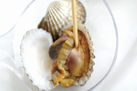 cockles: Cockles in ladle LANG_EVOIMAGES