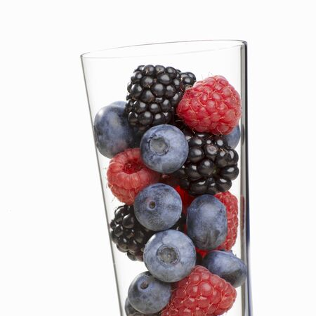 brambleberries: Various berries in a glass LANG_EVOIMAGES