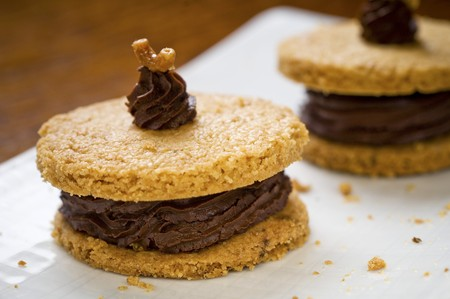 shortbread: Shortbread filled with Chantilly chocolate cream LANG_EVOIMAGES