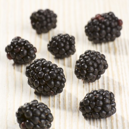 brambleberries: Blackberries (close up)