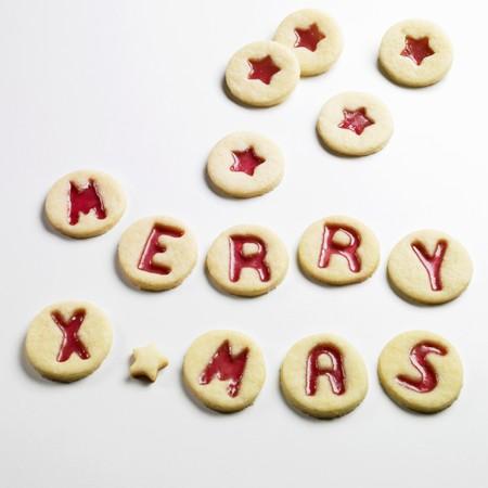 jam biscuits: Biscotti di marmellata precisando MERRY XMAS