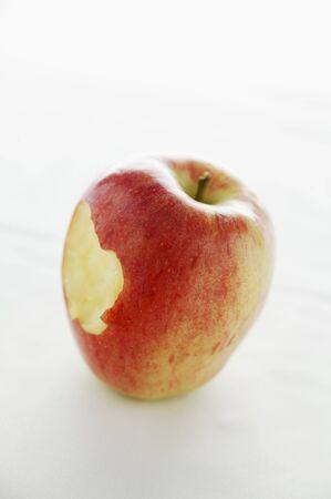 taken: An apple core