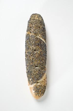 pretzel stick: Pretzel stick with poppy seeds LANG_EVOIMAGES