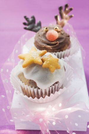 christmassy: Christmassy chocolate muffins LANG_EVOIMAGES