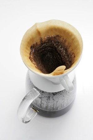 coffeepots: Filter coffee in glass coffee pot