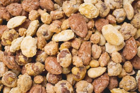 mixed nuts: Mixed nuts to nibble (full-frame)
