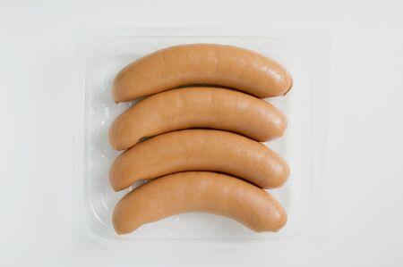 wienie: Frankfurters in plastic tray LANG_EVOIMAGES