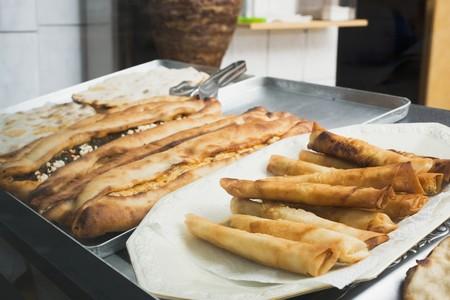 casse-cro�te: Sp�cialit�s turques dans un snack-bar