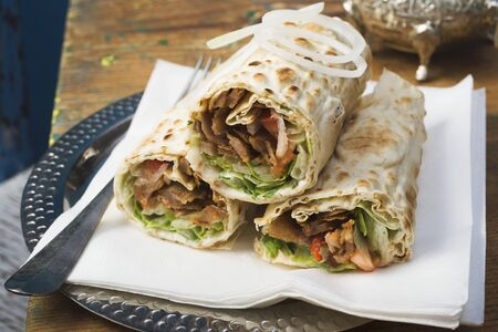 ner: D�ner wraps from Turkey
