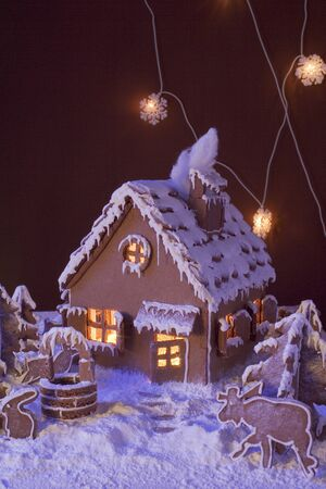 atmospheric: Gingerbread with atmospheric lighting LANG_EVOIMAGES
