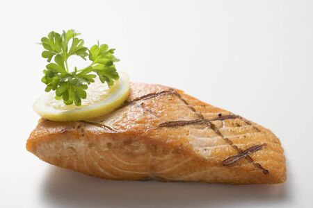 qs: Grilled salmon fillet
