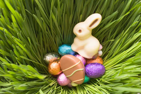 sweet grasses: Easter sweets in grass