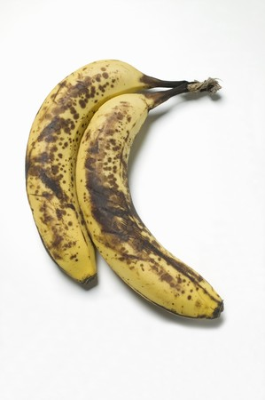 brownness: Two ripe bananas LANG_EVOIMAGES