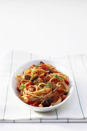 low cal: Spaghetti Napoli