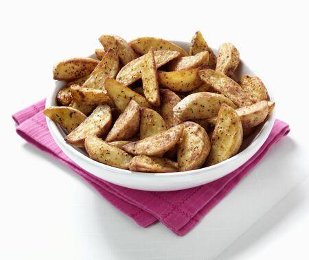 potato wedges: Roast potato wedges