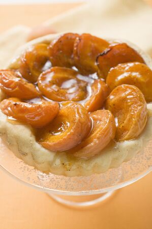 glazes: Apricot tart
