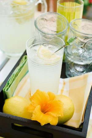 soda pops: Still life with lemonade