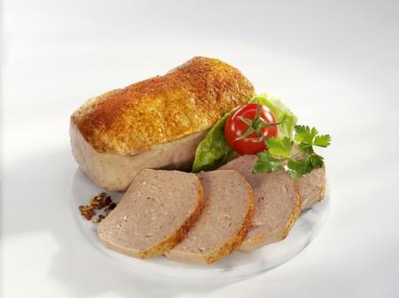 albondigas: Fleischkse (un tipo de pastel de carne) con piment�n